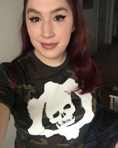 Get in gear // Gears Of War 4 X Neff Omen Logo Camo T-Shirt