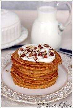 carrot cake pancakes! Carrot Recipes, Cake Recipes, Yummy Recipes, Best Breakfast, Breakfast Recipes, Carrot Cake Pancakes, Tasty, Yummy Food, Cooking For Two