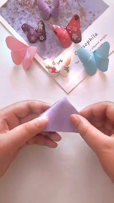 Diy Crafts For Girls, Diy Crafts To Do, Diy Crafts Hacks, Diy Arts And Crafts, Cute Crafts, Easy Crafts, Craft Tutorials, Diys, Paper Crafts Origami