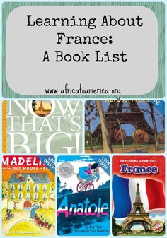 Learning About France:  A Book List