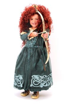 Princess Merida!  It's all about the right hair!!