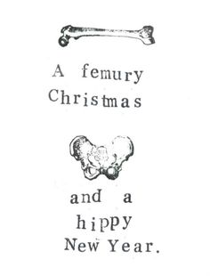 For the punster with a macabre side. | 21 Holiday Cards You'll Actually Want To Send This Year