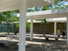 Irwin Conference Center. 1954. Columbus, Indiana. Eero Saarinen Columbus Indiana, Eero Saarinen, Industrial Design, Conference, Pergola, Outdoor Structures, Industrial By Design, Outdoor Pergola