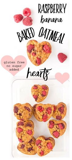 Looking for a unique spin on your typical bowl of oatmeal? These no sugar added raspberry banana bak Toddler Finger Foods, Toddler Snacks, Baby Breakfast, Breakfast Ideas, Banana Baby Food, Baby Muffins, Healthy Homemade Snacks, Healthy Meals, Benefits Of Organic Food