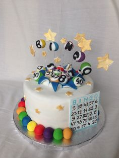 a delicious looking cake for the ultimate bingo fan i think i could