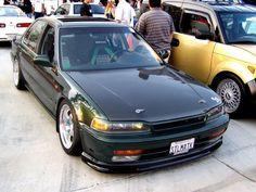 Honda Accord Green Racecar