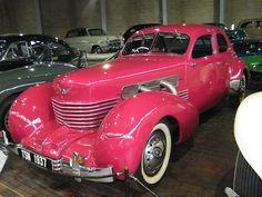 ❦ National Motor Museum, Beaulieu 1937 Cord 810 Westchester Sedan