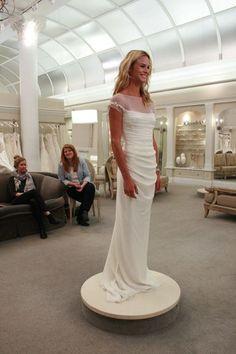 "Meghan King Edmonds, a star on The Real Housewives of Orange County, said ""Yes!"" to this Le Spose di Gio dress"