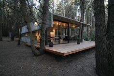 Diseño de casa de campo pequeña de un piso   Construye Hogar
