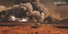 Concept art for The Martian: Bad weather