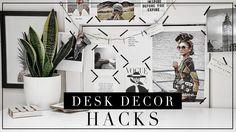 Desk Decor Hacks & DIY inspired by Instagram |  Szilvia Bodi