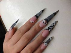 Acrylic Nails Pointy Design - http://www.mycutenails.xyz/acrylic-nails-pointy-design.html