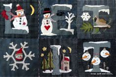 NEVICA  !!!  Scrap,quilt and stitch: Patchwork