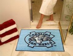 North Carolina UNC Tar Heels Logo All-Star Welcome/Bath Mat Rug 34X45