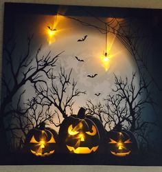Lighted LED Canvas Wall Art -  NEW