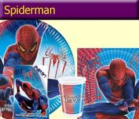 Our spiderman partyware