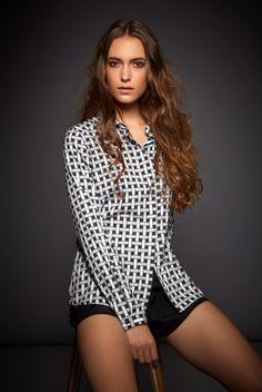 Polka Dot Top, Long Sleeve, Sleeves, Tops, Women, Fashion, Blouse, Nice Asses, Polka Dot Shirt
