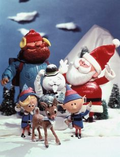 """""""Rudolph the Red-Nosed Reindeer"""" - Rudolph saves the day (Christmas, of course!) in this classic movie, based on """"Rudolph the Red-Nosed Reindeer,"""" a song we all know and love by Johnny Marks. Best Holiday Movies, Classic Christmas Movies, Favorite Holiday, Christmas Classics, Merry Christmas, Christmas Time, Vintage Christmas, Christmas Specials, Rudolph Christmas"""