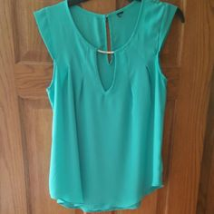 TEAL BLOUSE Worn a few times WINDSOR Tops Blouses