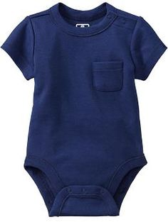Short-Sleeved Jersey Bodysuits for Baby | Old Navy $7.94