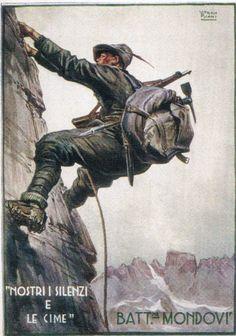 World War I, Old World, Pin Up Illustration, Italian Army, National History, Military Art, Wwi, Retro, Warfare