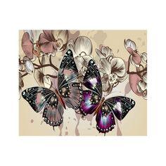 #BFCM #CyberMonday #Dresslily - #Dresslily Naiyue 9007 Butterfly Print Draw Diamond Drawing - AdoreWe.com