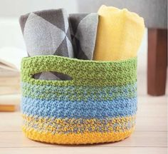 Family Favorites to Crochet basket pattern