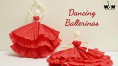 Tissue Paper Ballerina