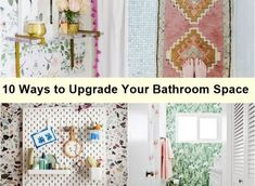 10 Ways to Upgrade Your Bathroom Space