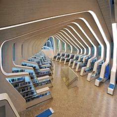Vennesla Library and Culture House By Helen & Hard (2011), #Norway ... Area: 1938 sqm. Photo by: Emile Ashley