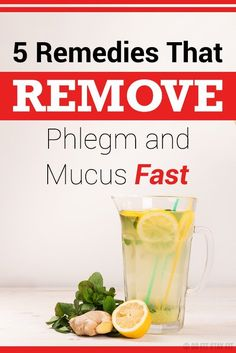 Here in this article we are going to give you 5 remedies which will help you eliminate the phlegm and the mucus from your body. #TheCleanerBodyDetox