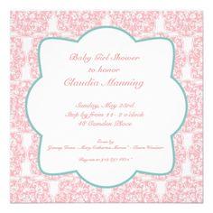 Floral Medallion Invitation- Pinkhttp://www.zazzle.com/floral_medallion_invitation_pink-161524579892451039