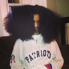 Black Girl Long Hair