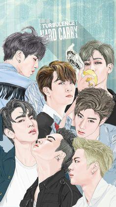 My favorite Jackson Era Youngjae, Yugyeom, Got7 Jb, Girls Girls Girls, Boys, Got7 Fanart, Kpop Fanart, Got7 Jackson, Jackson Wang
