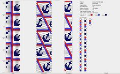 Bead crochet pattern, 12 around
