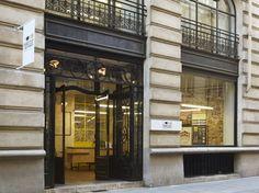 Must see: La Fabrique - Crossmarks Christophe Adam, Paris France, Design Blog, Store Design, Retail Interior, Design Furniture, Store Fronts, Facade, Entrance