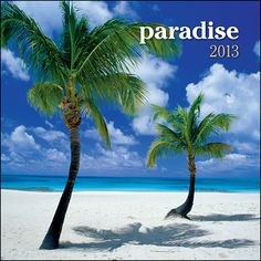 Paradise Mini Wall Calendar: Travel to paradise! Daydream about the tropical breezes, warm sands and the crystal blue waters pictured in this beautiful calendar. Explore this breathtaking scenery from the tropical island paradise in this mini calendar.  http://www.calendars.com/Islands/Paradise-2013-Mini-Wall-Calendar/prod201300005129/?categoryId=cat00722=cat00722#