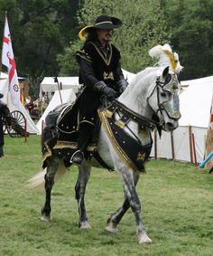 Renfairstock_grayhorse2 by PilgrimSoul.deviantart.com on @deviantART Horse Fancy Dress, Pirate Fancy Dress, Horse Armor, Horse Gear, Horse Tack, Medieval Horse, Medieval Fantasy, Horse Accessories, Horse Costumes