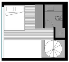387 sq ft 2 story micro apartment in brazil 0010   Would You Live in this 387 Sq. Ft. Two Story Micro Apartment?