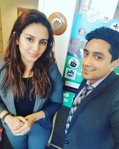Pleasant surprise at UN HQ, NYC welcoming Actress Huma Qureshi to deliver a talk on Women Empowerment!