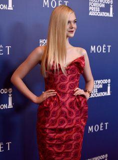 Elle Fanning - Hollywood Foreign Press Association's Grants Banquet