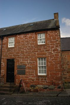 Home of Robert Burns, Dumfries, Scotland