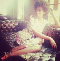 Natural Belle: Mydamnstagrams: Solange Knowles on Instagram