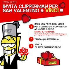 Contest CLIPPER ITALIA San Valentino 2015 Instagram!  #clipper #clipperitalia