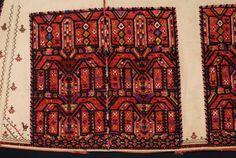 Greece, Macedonia, Imathia, vizano kousouli festive tunic, wool emboidered cotton, End of 19th c, recto