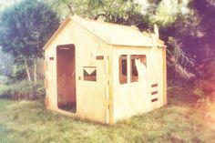 1domek f nasza realizacja 1domku do ogrodu  wooden house design for children plywood house for kids play house exterior interior