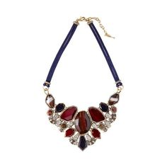 Rebel Convertible Statement Necklace | Chloe + Isabel (9.435 RUB) ❤ liked on Polyvore featuring jewelry, necklaces, chloe isabel jewelry, convertible necklace, bib statement necklace and statement necklaces
