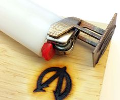 In this Instructable I will show you how to 3D print your very own custom Branding Iron that snaps onto a Bic lighter!You don't need a 3D printer, jus...