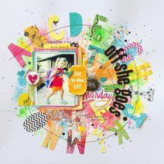 School-themed layout for @scrapbook_generation CREATE Magazine 2015 September issue! 💗💛. @americancrafts @aflairforbuttons #scrapbookgeneration #CREATE #scrapbookmagazine #americancrafts #aflairforbuttons #flair #flairbuttons #mixedmedia #scrapbooking #scrapbooklayout #papercrafts #papercrafting