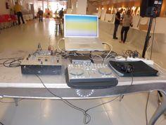 El puesto del DJ Bul Bul SuperBul en el evento Intermixable | por eventosfera